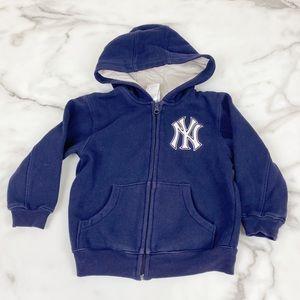 New York Yankees 3T Sweatshirt Hoodie Navy Blue